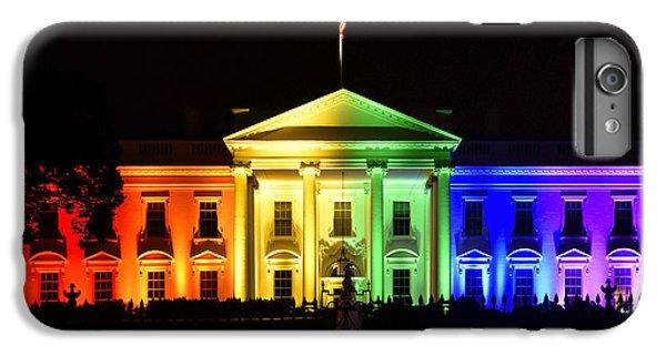 Rainbow White House  - Washington Dc IPhone 6 Plus Case by Brendan Reals