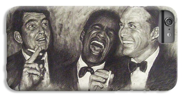 Rat Pack IPhone 6 Plus Case by Cynthia Campbell