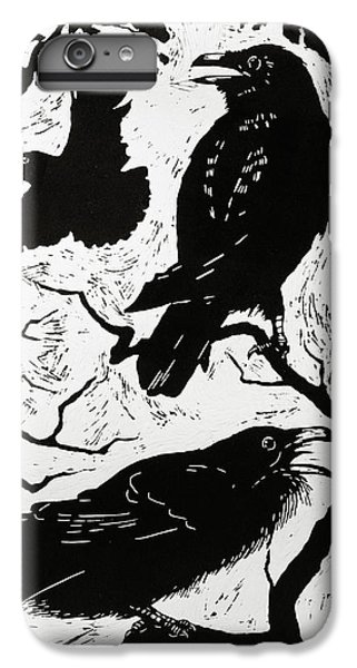 Ravens IPhone 6 Plus Case by Nat Morley