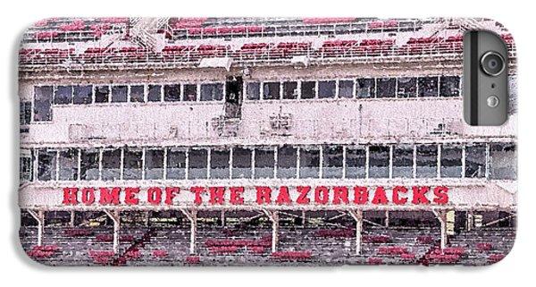 Razorback Stadium IPhone 6 Plus Case by JC Findley
