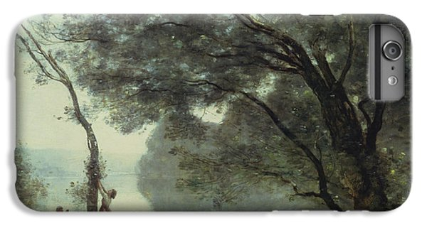 Recollections Of Mortefontaine IPhone 6 Plus Case by Jean Baptiste Corot