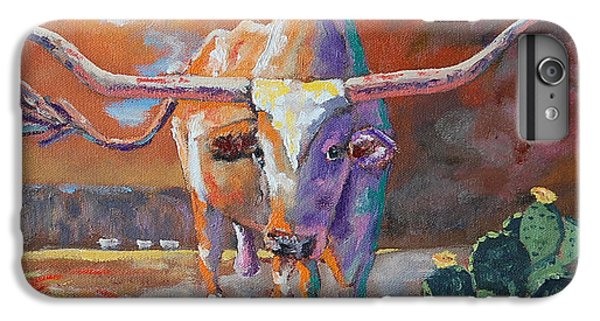 Red River Showdown IPhone 6 Plus Case by J P Childress