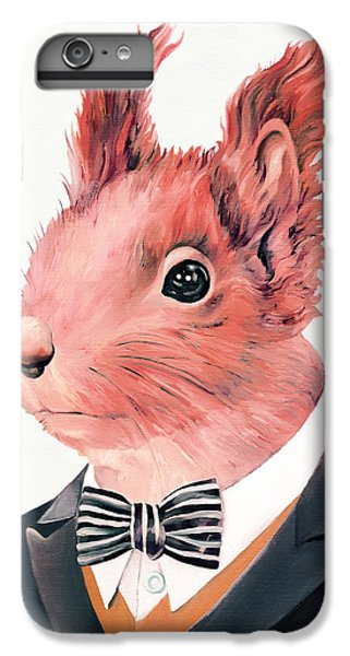 Red Squirrel IPhone 6 Plus Case by Animal Crew