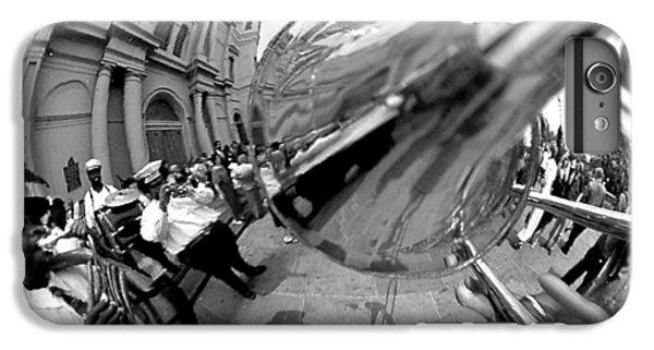 Reflections In A Trombone IPhone 6 Plus Case by Todd Fox