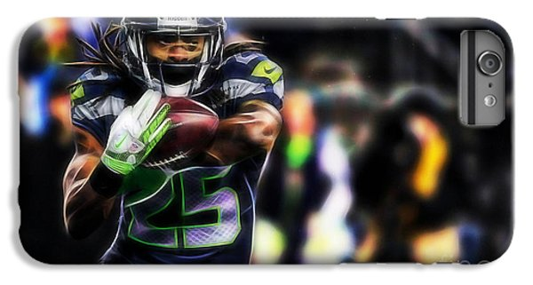 Richard Sherman Collection IPhone 6 Plus Case by Marvin Blaine