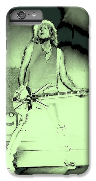 Rick Savage - Def Leppard IPhone 6 Plus Case by David Patterson
