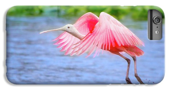 Rise Of The Spoonbill IPhone 6 Plus Case by Mark Andrew Thomas