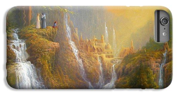 Rivendell Wisdom Of The Elves. IPhone 6 Plus Case by Joe  Gilronan