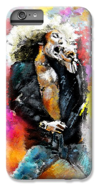 Robert Plant 03 IPhone 6 Plus Case by Miki De Goodaboom