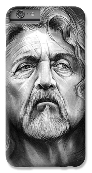Robert Plant IPhone 6 Plus Case by Greg Joens