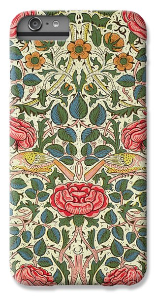 Rose IPhone 6 Plus Case by William Morris