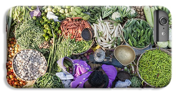 Rural Indian Vegetable Market IPhone 6 Plus Case by Tim Gainey