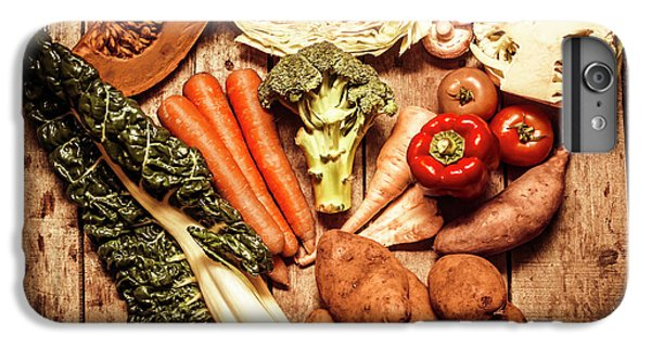 Rustic Style Country Vegetables IPhone 6 Plus Case by Jorgo Photography - Wall Art Gallery