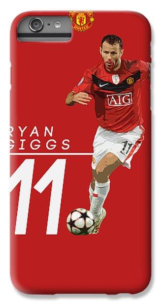 Ryan Giggs IPhone 6 Plus Case by Semih Yurdabak