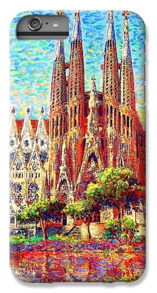 Sagrada Familia IPhone 6 Plus Case by Jane Small