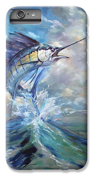 Sailfish And Frigate IPhone 6 Plus Case by Tom Dauria