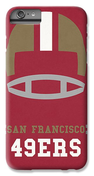 San Francisco 49ers Vintage Art IPhone 6 Plus Case by Joe Hamilton