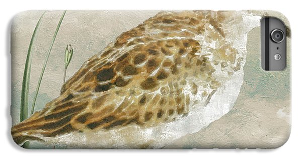 Sandpiper I IPhone 6 Plus Case by Mindy Sommers