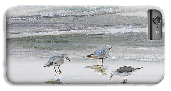 Sandpipers IPhone 6 Plus Case by Julianne Felton