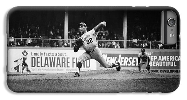 Sandy Koufax (1935- ) IPhone 6 Plus Case by Granger