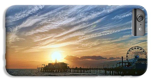Santa Monica Pier IPhone 6 Plus Case by Eddie Yerkish