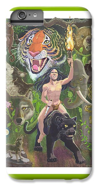 Savage IPhone 6 Plus Case by J L Meadows