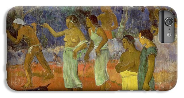 Scene From Tahitian Life IPhone 6 Plus Case by Paul Gauguin