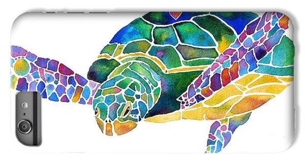 Sea Turtle Celebration 4 Prints Only IPhone 6 Plus Case by Jo Lynch