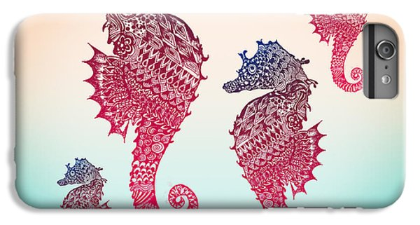 Seahorse IPhone 6 Plus Case by Mark Ashkenazi