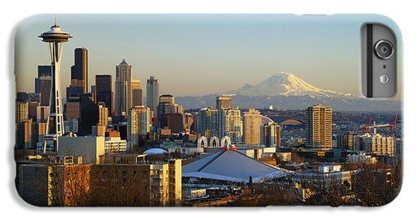 Seattle Cityscape IPhone 6 Plus Case by Greg Vaughn - Printscapes