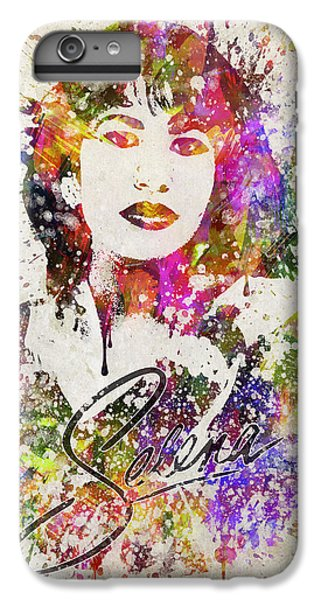 Selena Quintanilla In Color IPhone 6 Plus Case by Aged Pixel