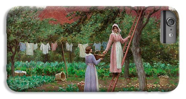 September IPhone 6 Plus Case by Edmund Blair Leighton