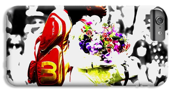 Serena Williams 2f IPhone 6 Plus Case by Brian Reaves