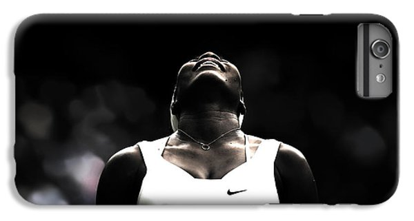 Serena Williams Quote 2a IPhone 6 Plus Case by Brian Reaves