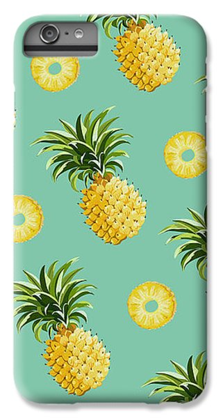 Set Of Pineapples IPhone 6 Plus Case by Vitor Costa