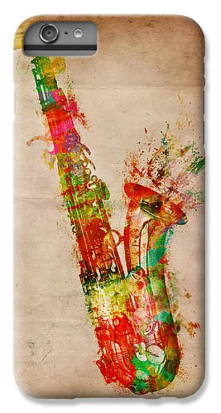Sexy Saxaphone IPhone 6 Plus Case by Nikki Smith