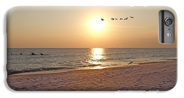 Shackleford Banks Sunset IPhone 6 Plus Case by Betsy Knapp