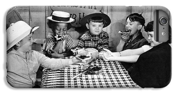 Silent Film: Little Rascals IPhone 6 Plus Case by Granger