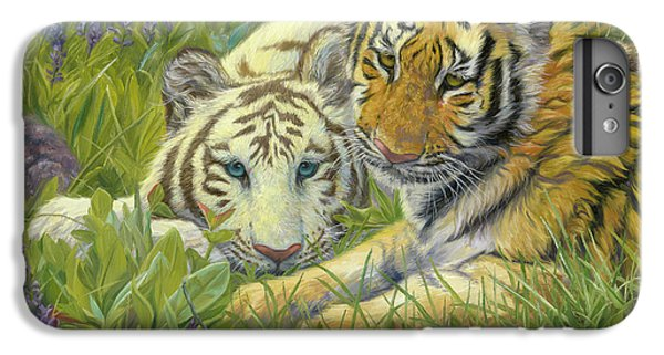 Sisters IPhone 6 Plus Case by Lucie Bilodeau