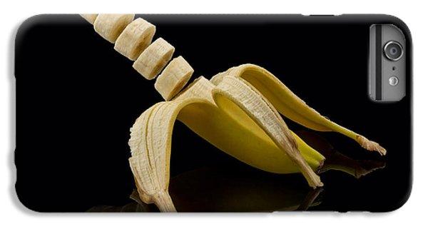 Sliced Banana IPhone 6 Plus Case by Gert Lavsen