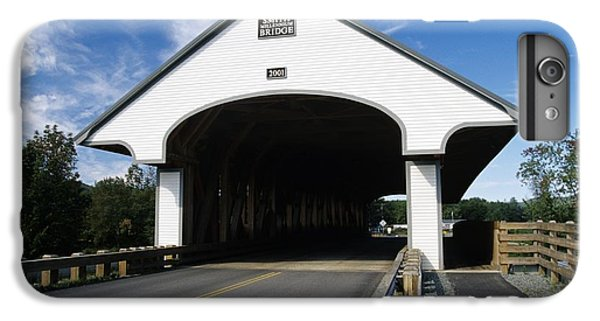 Smith Covered Bridge - Plymouth New Hampshire Usa IPhone 6 Plus Case by Erin Paul Donovan