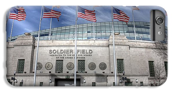 Soldier Field IPhone 6 Plus Case by David Bearden