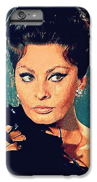 Sophia Loren IPhone 6 Plus Case by Taylan Soyturk
