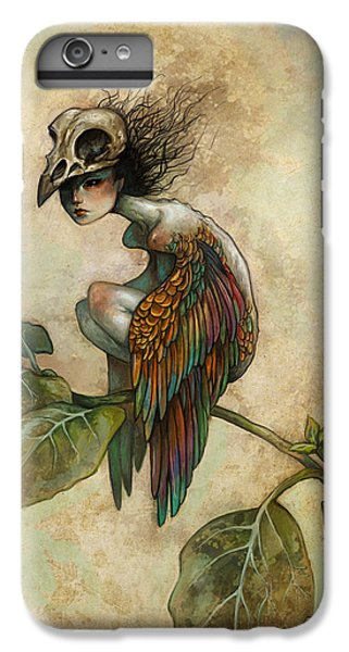 Soul Of A Bird IPhone 6 Plus Case by Caroline Jamhour
