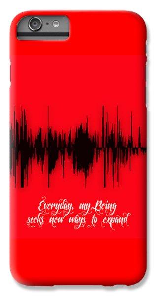 Soundwave Message IPhone 6 Plus Case by Marvin Blaine