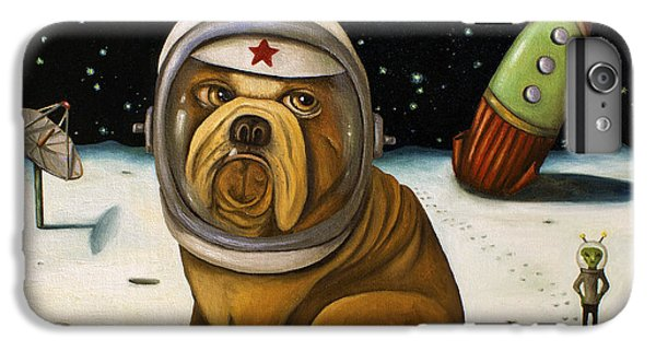 Space Crash IPhone 6 Plus Case by Leah Saulnier The Painting Maniac