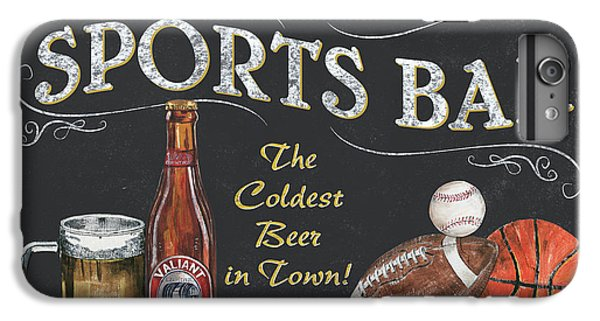 Sports Bar IPhone 6 Plus Case by Debbie DeWitt