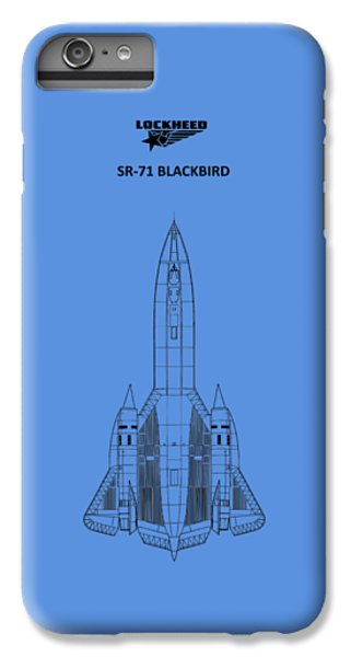 Sr-71 Blackbird IPhone 6 Plus Case by Mark Rogan