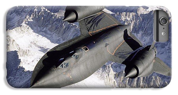 Sr-71b Blackbird In Flight IPhone 6 Plus Case by Stocktrek Images