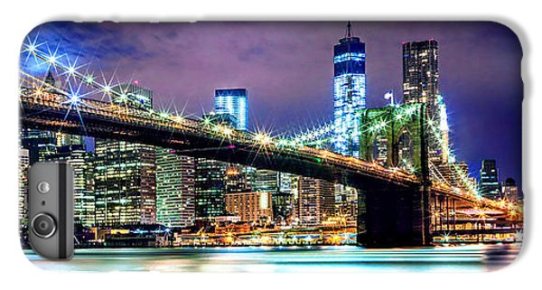 Star Spangled Skyline IPhone 6 Plus Case by Az Jackson